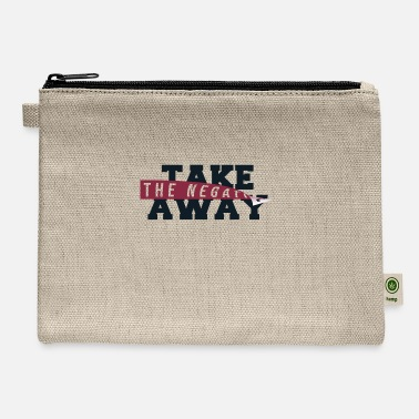 Take-away take away negatives - Carry All Pouch