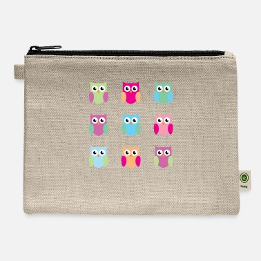 9 owls - Carry All Pouch