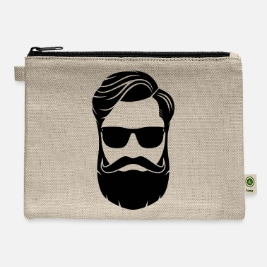 No Shave no shave november - Carry All Pouch