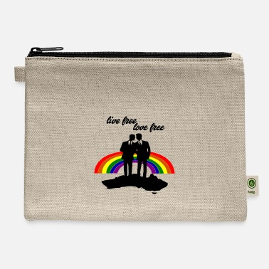 Love love is love - Carry All Pouch