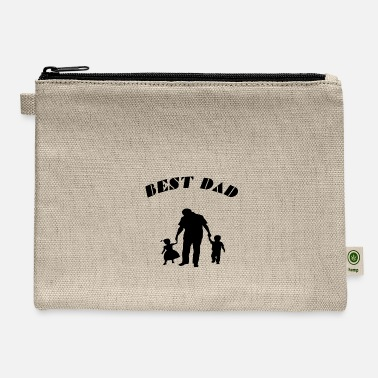 Best Dad best dad - Carry All Pouch