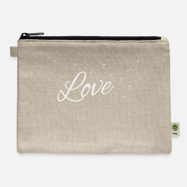 Life Energy love life energy Friendship friendy living present - Carry All Pouch