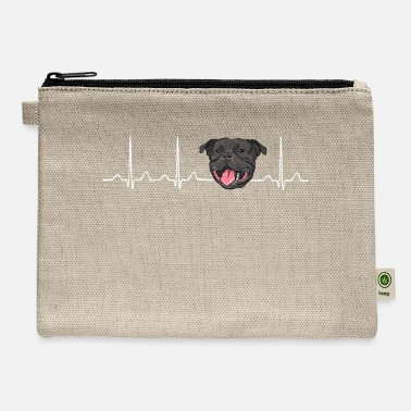 Stafford Heartbeat American Stafford Pitbull - Carry All Pouch