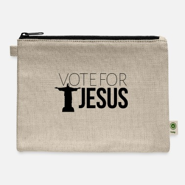 Vote for JESUS - Carry All Pouch