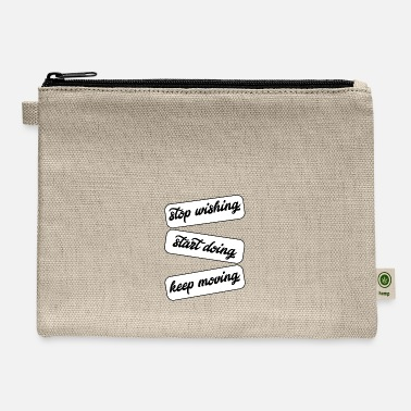 Start start doing - Carry All Pouch