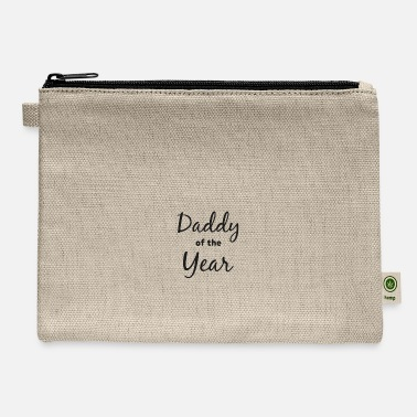 Daddy Of The Year Daddy of the Year - Gift - Shirt - Carry All Pouch