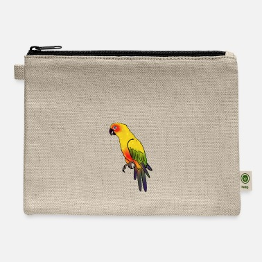 Yellow Yellow Bird - Carry All Pouch