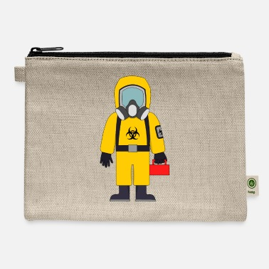 Lunch-boxes Hazard Suit wth Lunch Box - Carry All Pouch