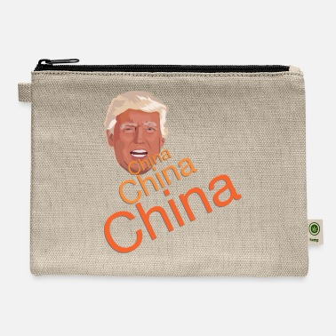 China Donald Trump - China, China, China - Carry All Pouch