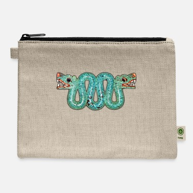 Aztec Aztec double-headed serpent - Carry All Pouch