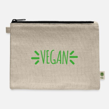 Animal Welfare Vegan veggie animal welfare gift - Carry All Pouch