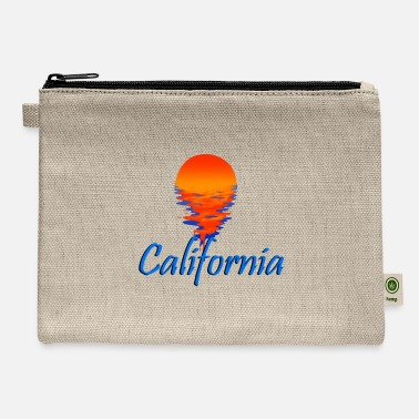 California California - Carry All Pouch