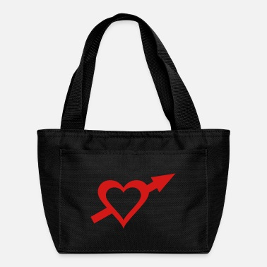 Cupido Heart and Arrow - Lunch Bag