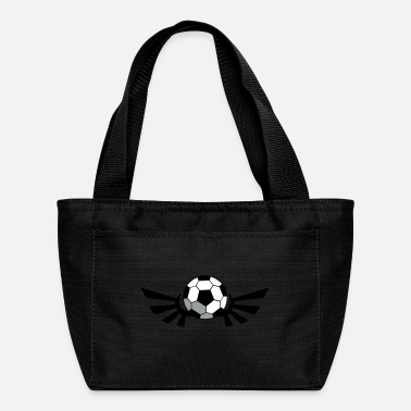Regulation Football SOCCER BALL football with AIRFORCE wings - Lunch Bag