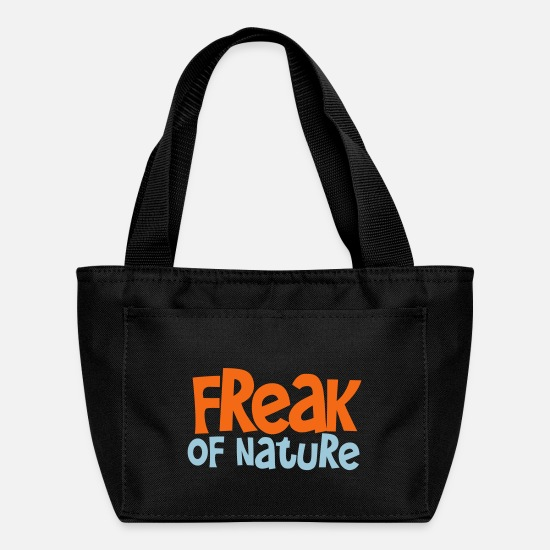 Nature Bags & Backpacks - freak of nature - Lunch Box black