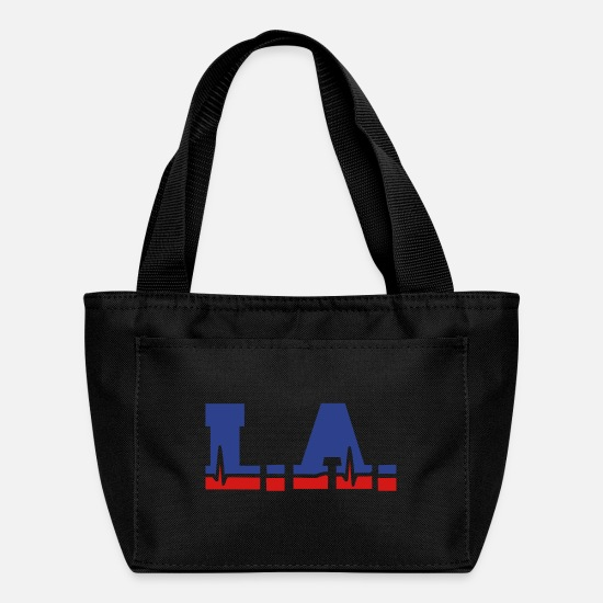Los Angeles Bags & Backpacks - Los Angeles alive - Lunch Box black