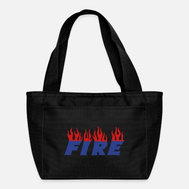 Slogan fire - Lunch Bag