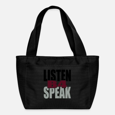 Tlc Listen Before Speak - Lunch Bag