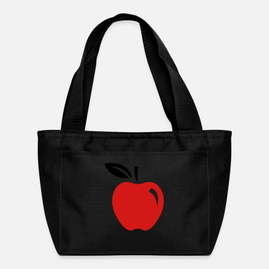 Apple Bags & Backpacks - Apple Fruit (2c)++ - Lunch Box black