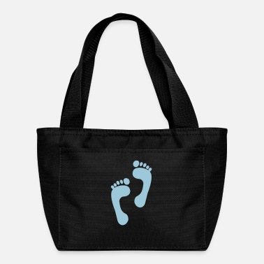Foot foot - feet - foot print - Lunch Box