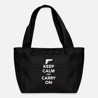 Keep Calm and Carry One - Pro Gun - Lunch Box