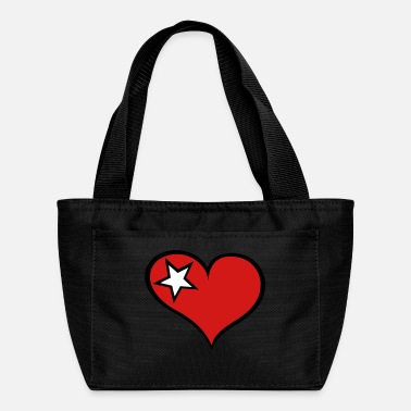 Sterren Heart and Star - Lunch Bag