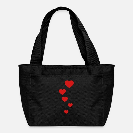 Love Bags & Backpacks - love - Lunch Bag black