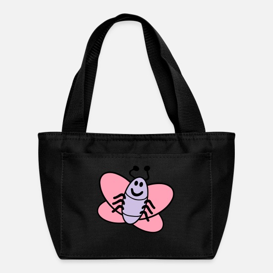 Kind Bags & Backpacks - Butterfly - Lunch Bag black