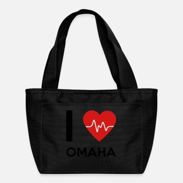 Omaha I Love Omaha - Lunch Box