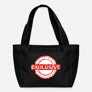 Exclusive exclusive addition - Lunch Bag