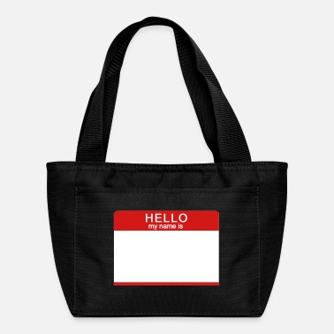 Hello Hello My Name Is - Lunch Box