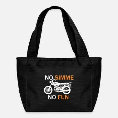 Gdr No Simme No Fun Moped Rider Gift - Lunch Bag