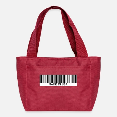 Encodes Information Made in USA - Lunch Bag