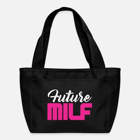 Haha Bags & Backpacks - Future Milf - Lunch Bag black
