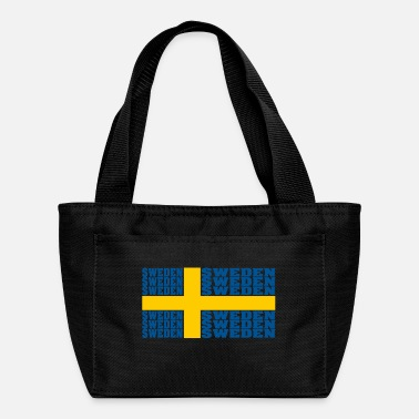 Sweden Sweden sweden sweden national flag - Lunch Bag