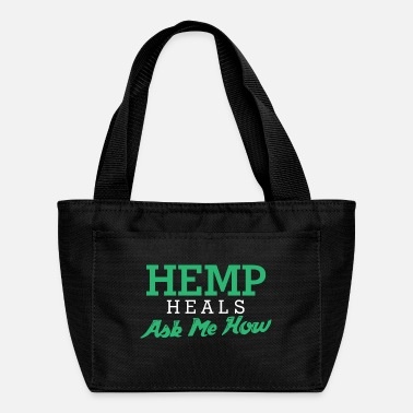 Mary Hemp Heals Ask Me How - Budtender Gear - Lunch Bag