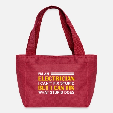 Funny Electrician Funny electrician - Lunch Bag