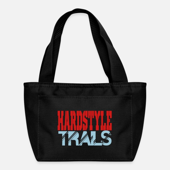 Raver Bags & Backpacks - hardstyle trails - Lunch Box black