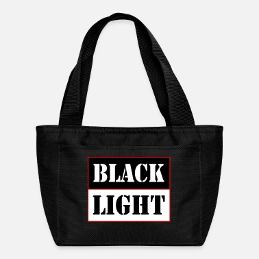 Black Light Black light red - Lunch Bag