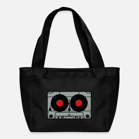 Turntable Bags & Backpacks - Cassette - Lunch Box black