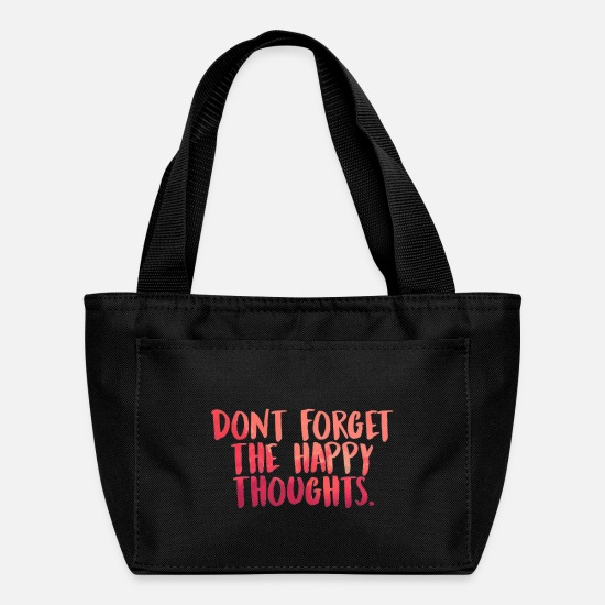 Country Bags & Backpacks - lyrics inspirational - Lunch Box black