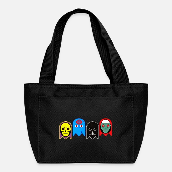 Bad Bags & Backpacks - Ghosts of Evil - Lunch Bag black