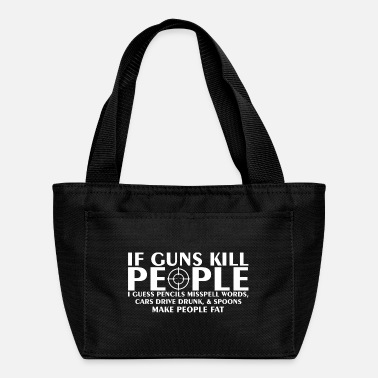 Drive Go By Car If Guns Kill People Pencil Mispell Cars Drive Drun - Lunch Box