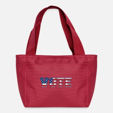 VOTE! Stars And Stripes USA FLAG Design - Lunch Bag
