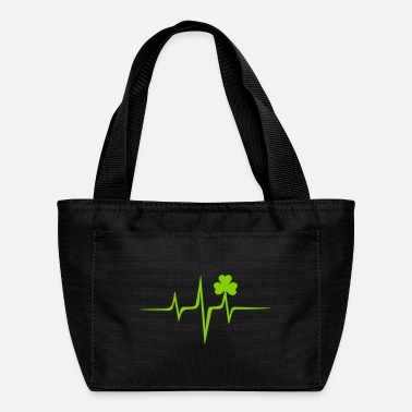 Irish Music Irish Music Pulse, Heart Rate, Frequency, Shamrock - Lunch Box