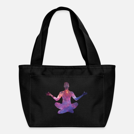 Thoughts Bags & Backpacks - Yoga meditation - Lunch Box black
