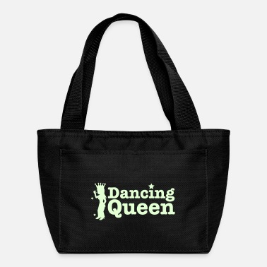 Boot Dancing Queen with dancing girl and crown - Lunch Bag