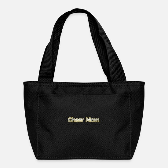 Mom Bags & Backpacks - Cheer Mom - Lunch Box black