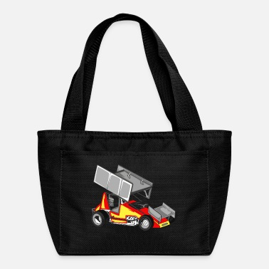 Sprinting Sprint Car - Lunch Bag