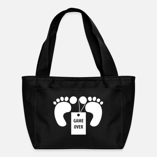 Feet Bags & Backpacks - Game over - Lunch Box black
